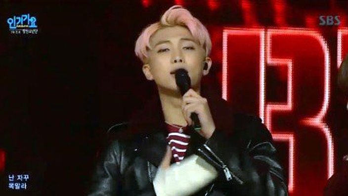 Bts S Rap Monster S Hand Cast Is Big For A Reason Sbs