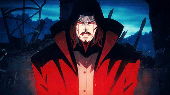 review   u0026 39 castlevania u0026 39  quenches our anime bloodlust