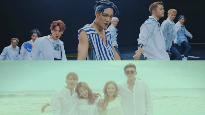 EXO and KARD look ridiculously good in their final comeback MV