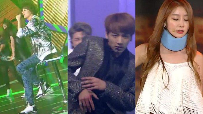 7 K Pop Idols Who Carried On Performing Like Champions Despite Injury Sbs Popasia