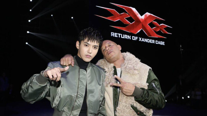 Kris Wu Lights Up China With Vin Diesel And The Xxx Cast