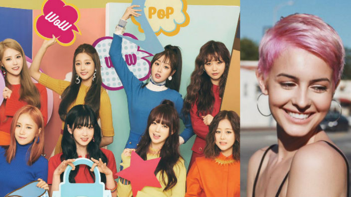 Lovelyz wows pop star Lisa Cimorelli with their stunning