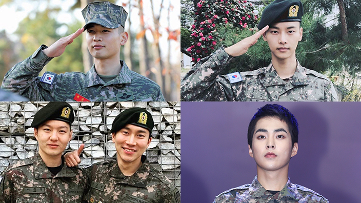 18 K Pop Idols Who Will Be Discharged From The Military In 2020 Sbs Popasia