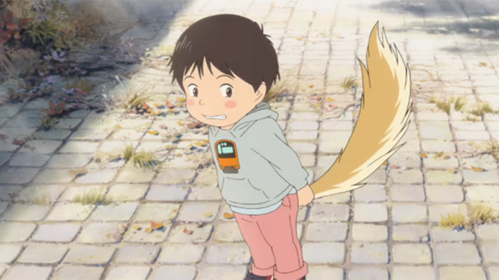 Utterly Adorable First Trailer For Wolf Children Directors New