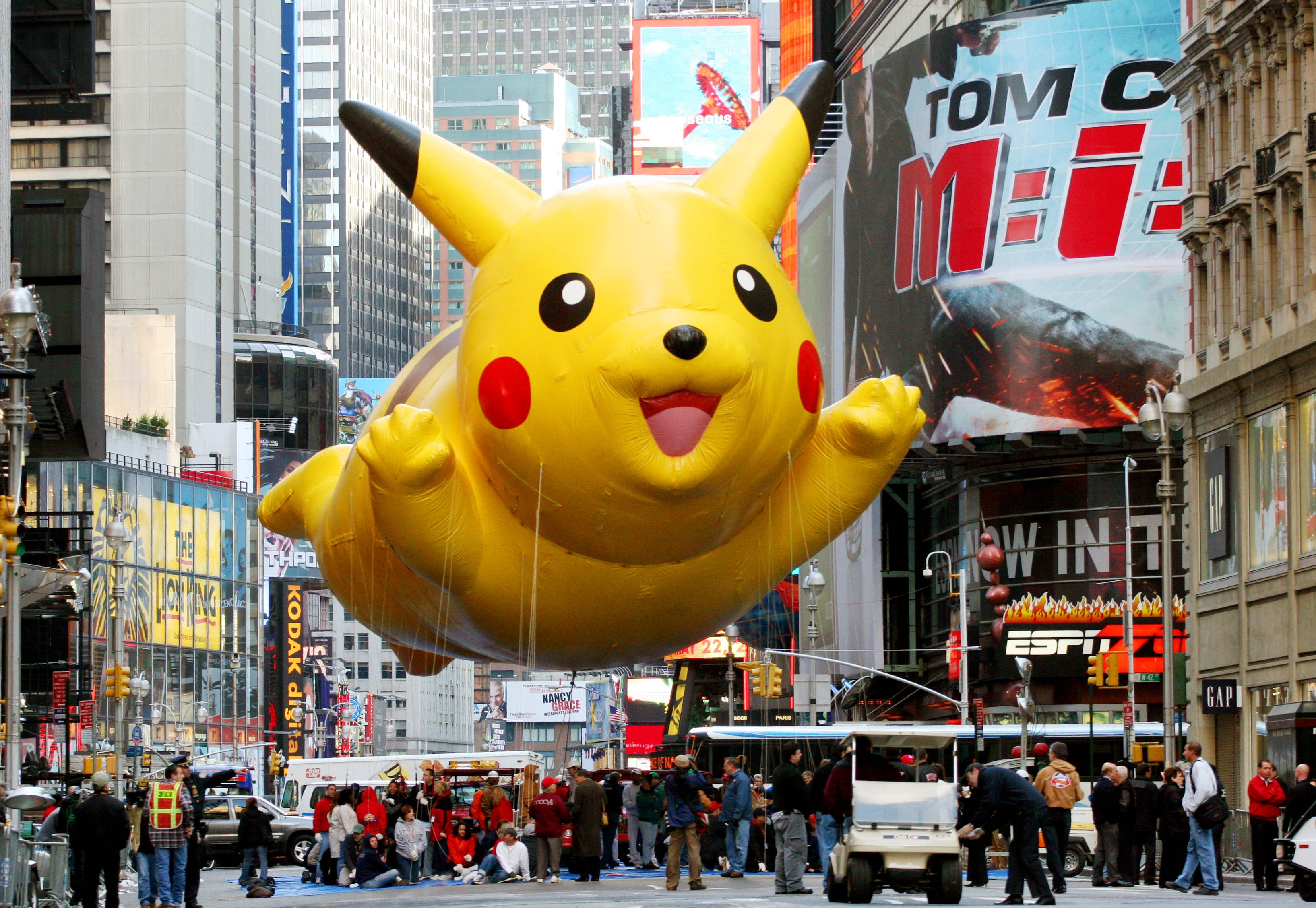 Hong Kong Pikachu fans march in protest against name ...