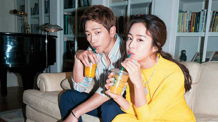 Rain and Kim Tae Hee are officially parents! | SBS PopAsia