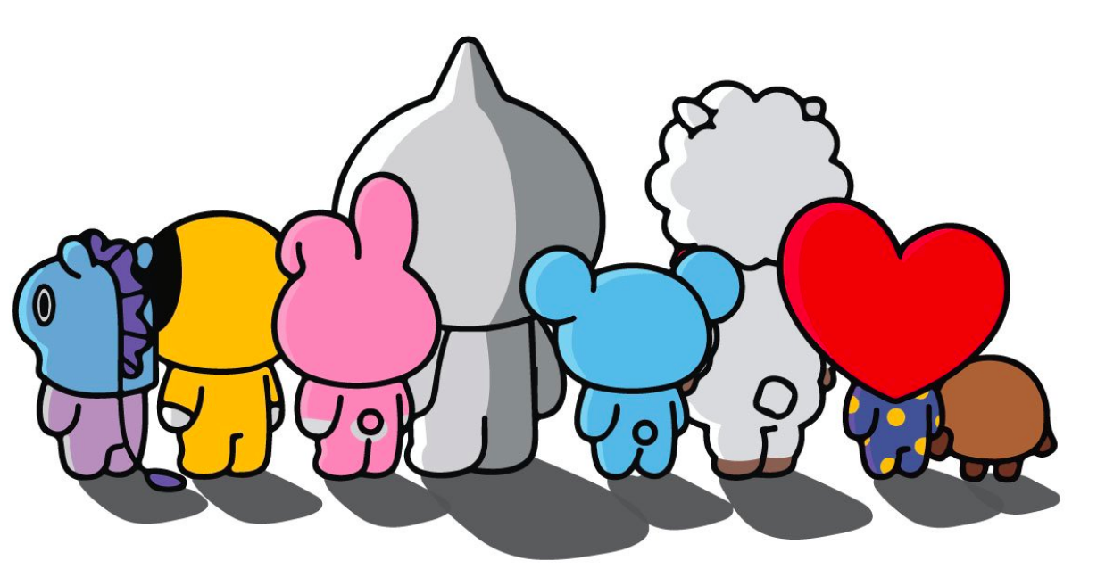 5d87fd95be30f BT21 team up with fashion label Anti Social Social Club for new collab Just  when you thought the BTS collaborations couldn t get any more interesting