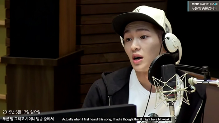 SHINee's Onew admits he thought their title track