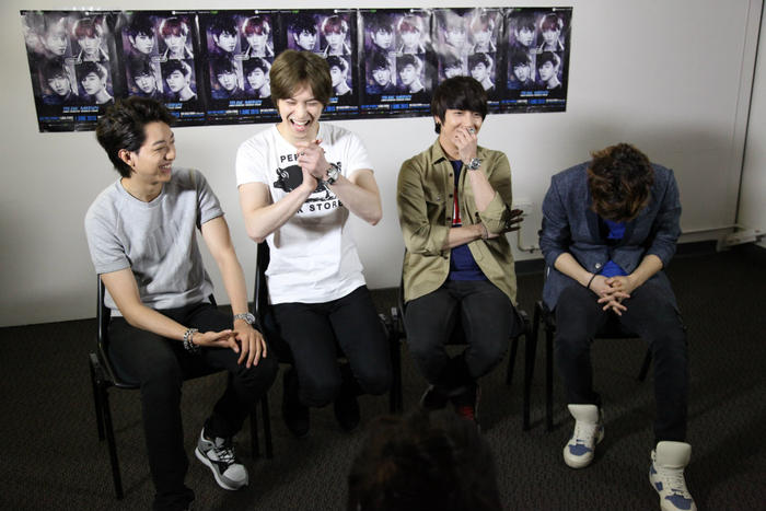 SBS PopAsia interview with CNBlue in Sydney