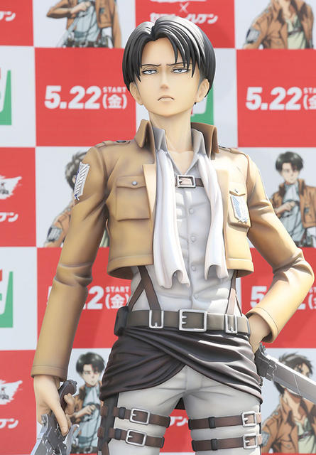 Attack on Titan life size figures