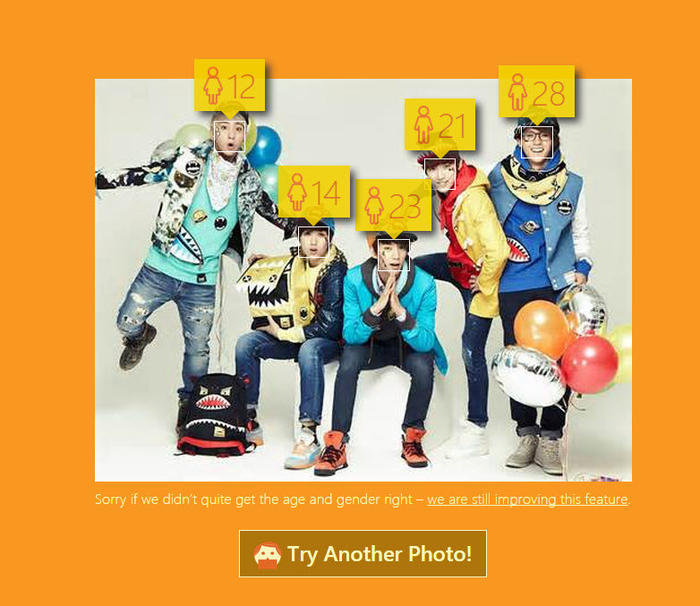 How-Old.net B1A4