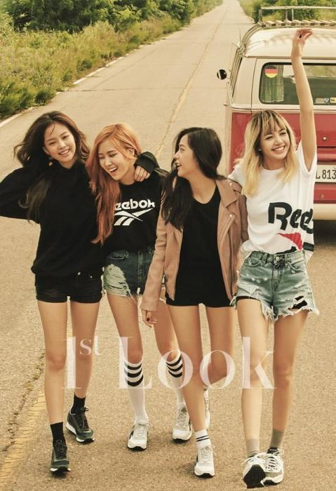 black pink rock some vintage fashion in new photoshoot