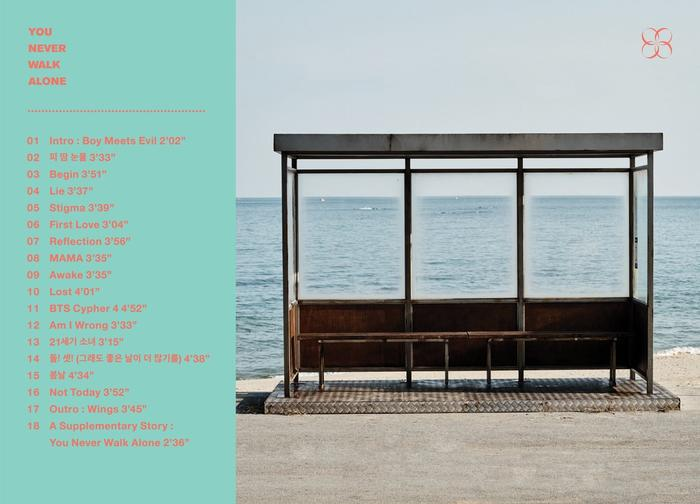 BTS You Never Walk Alone track list