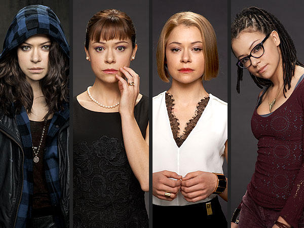 4 clones from Orphan Black