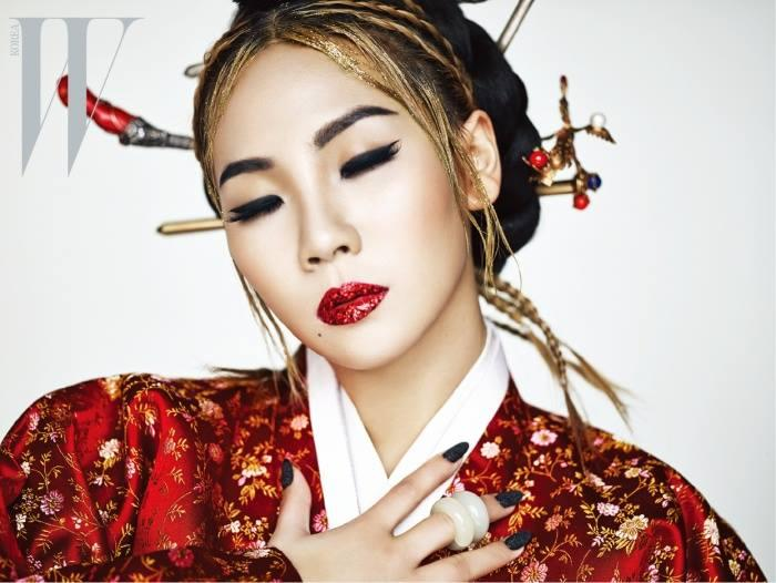 2ne1 S Cl Is Quot The Queen Quot In W Magazine S April Issue