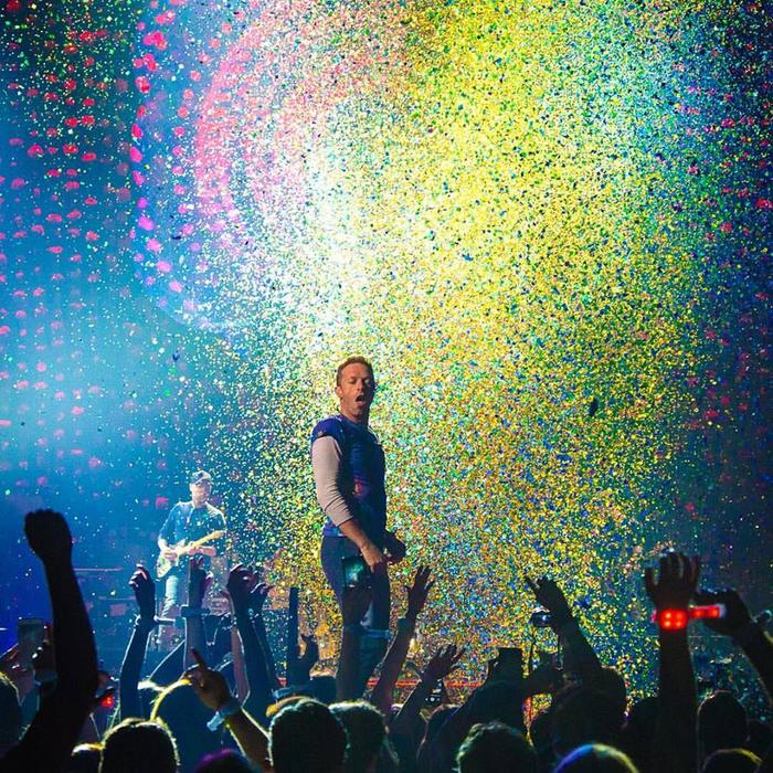 Coldplay live