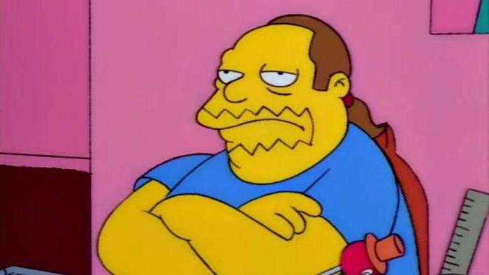 Comic Book Guy The Simpsons