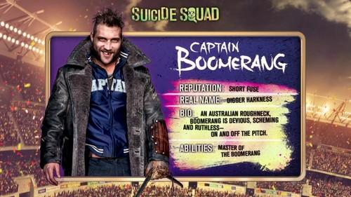 Captain Boomerang from Suicide Squad