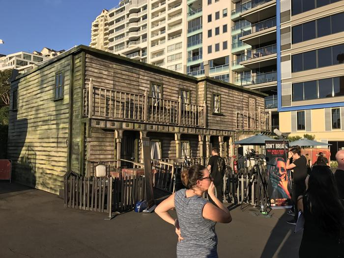 Don't breathe experience at Luna Park