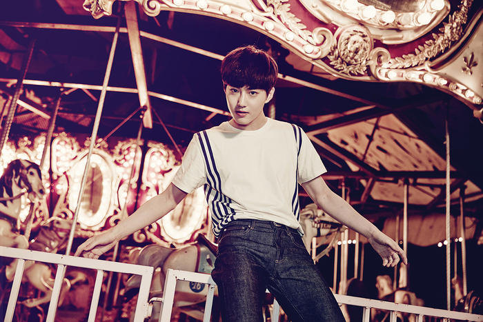 EXO love me right teaser Suho