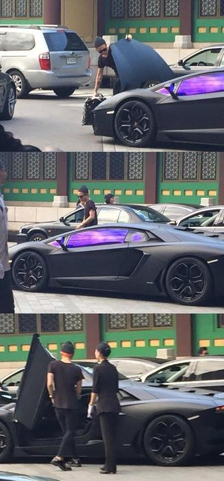Breaking News G Dragon Is Dating A Car Sbs Popasia