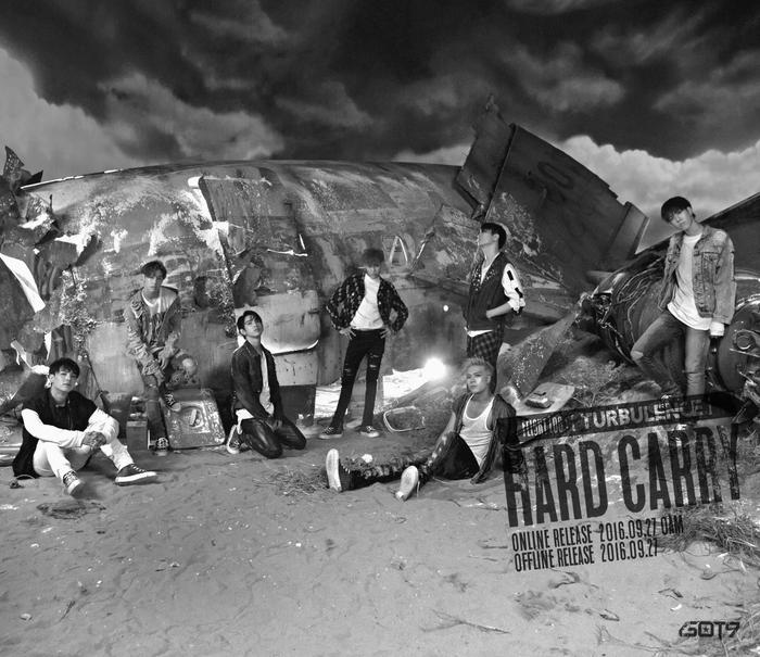 for more got7 got7 are looking edgy in their new flight log turbulence ...