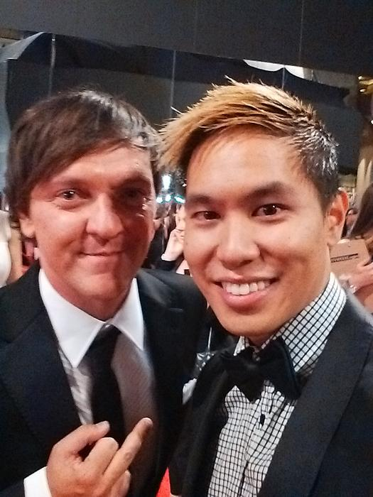 Andy Trieu with Chris Lilley