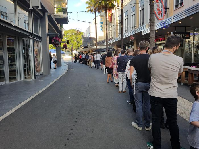 Line up to Fantastic Beasts