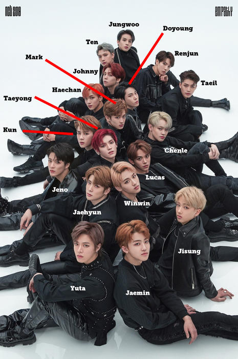 nct 2018 with names