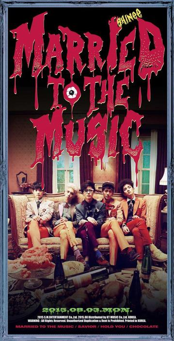 SHINee married to the music