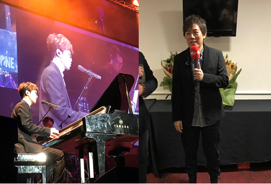 Steve Chou and Phil Chang perform at Sydney Town Hall