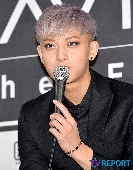 EXO's Tao at endorsement event in China