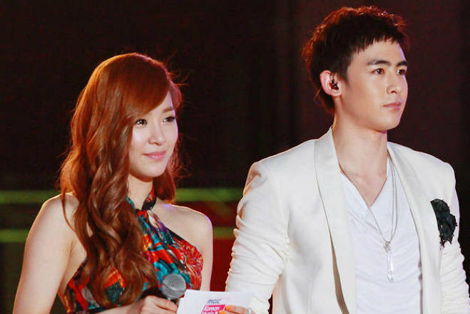 The honesty didnt. 2PMs Nichkhun – Girls Generations Tiffany.