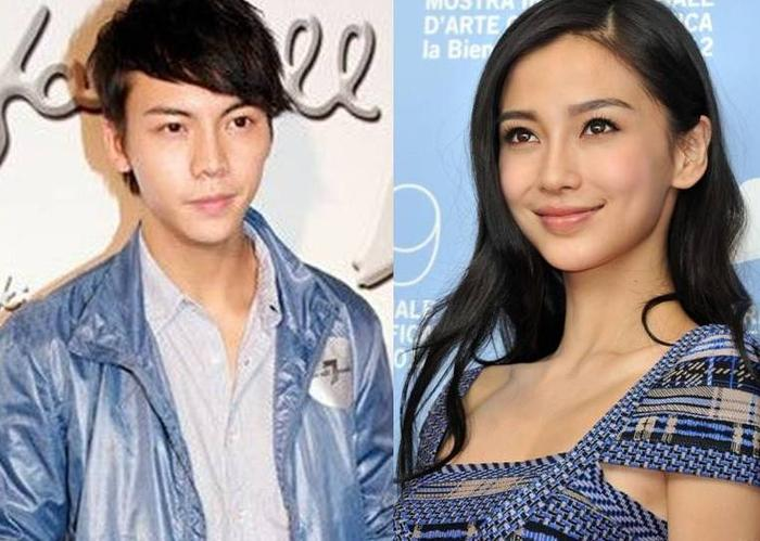 William Chan and Angelababy