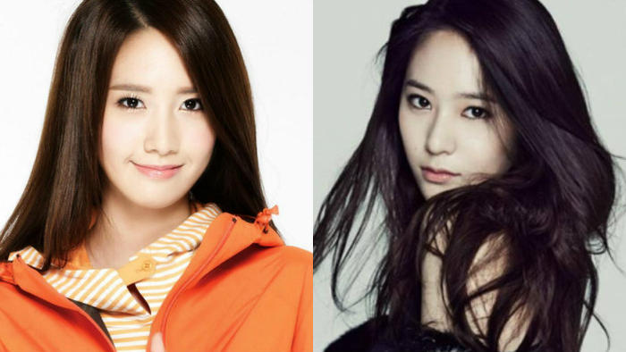 11 pairs of K-pop stars who look (almost) identical | SBS ... F(x) Krystal And Yoona
