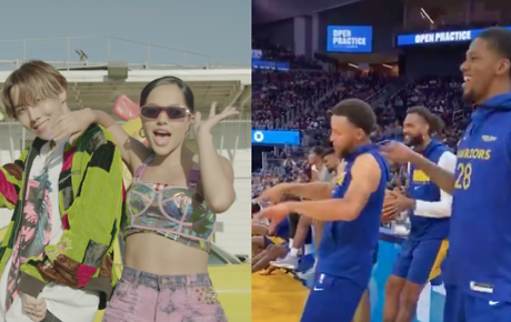 NBA stars jam out to J-hope & Becky G's 'Chicken Noodle Soup'