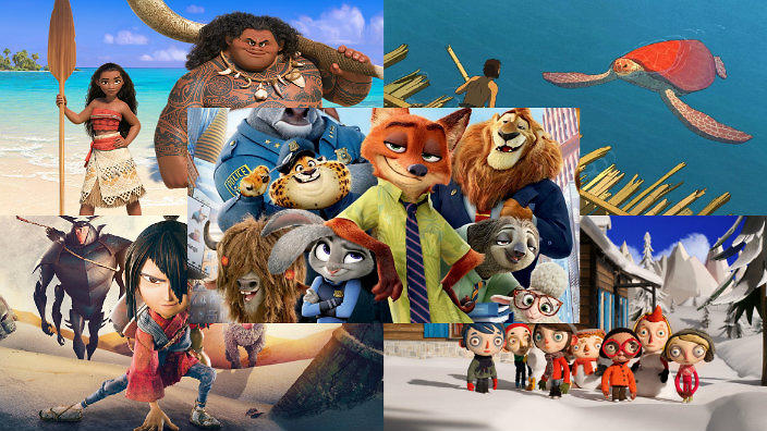 2017 Best Animated Feature Film Oscar Nominees Revealed