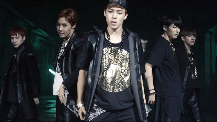 Pin Bts Dark And Wild Images To Pinterest