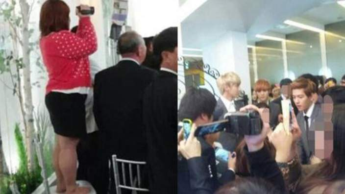 EXO incident with Sasaeng fans