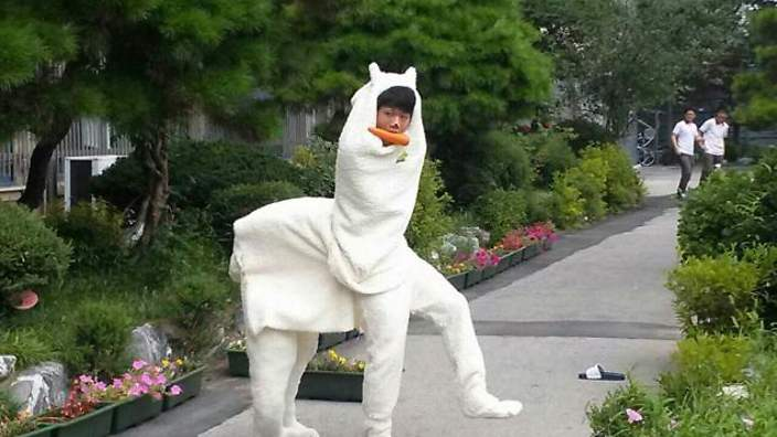Eat your kimchi cosplay