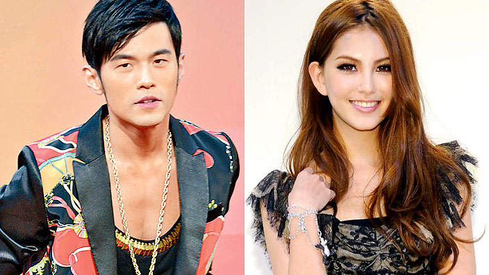 Jay Chou and Hannah Quinlivin