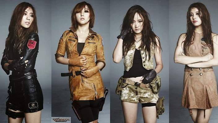 Miss A as Crossfire characters