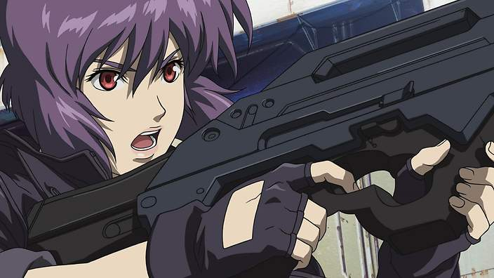 Warrior Ghost in the shell