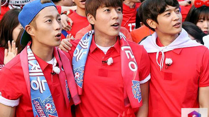 World cup idols and fans