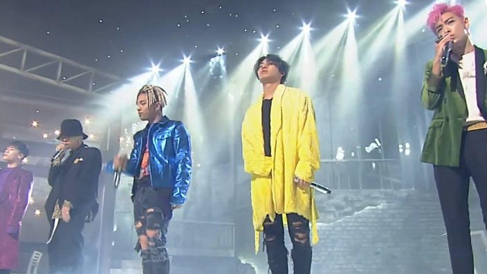 BIGBANG perform for the last time on 'Inkigayo' | SBS PopAsia