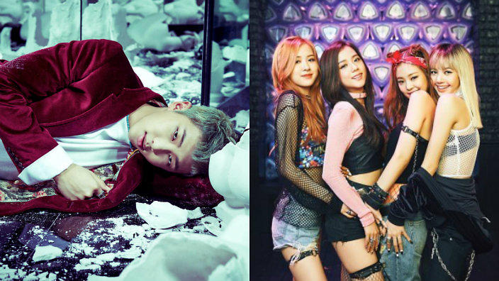BTS' Rap Monster spotted rocking out to Black Pink at 2016