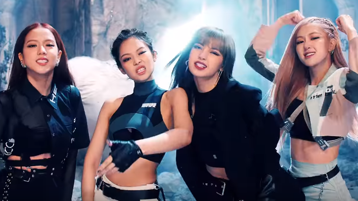 WATCH: BLACKPINK bring the intensity with