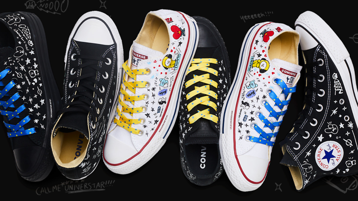 69dc3108d039 BTS team up with Converse for BT21 sneakers