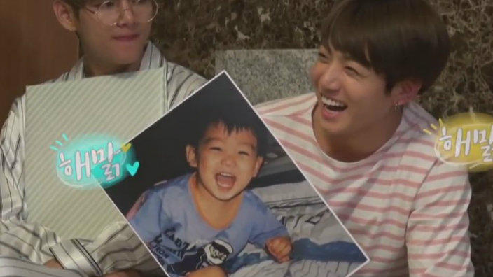 BTS show off adorable baby photos of themselves | SBS PopAsia