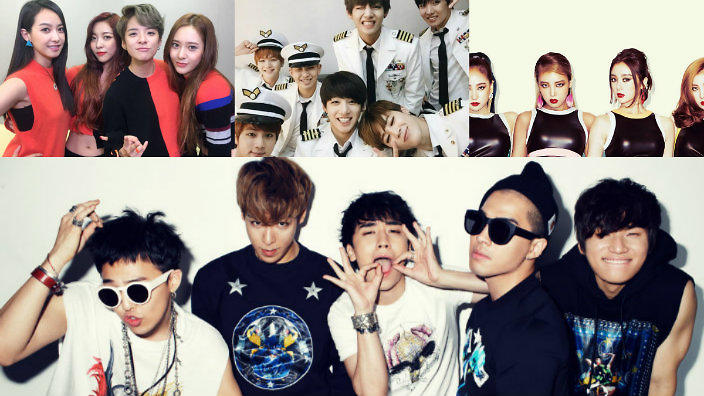 11 K-pop groups that nearly debuted under different names